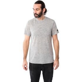 super.natural Essential SS Shirt Men ash melange